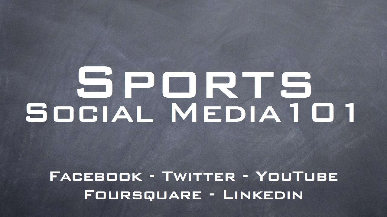 Sports Jobs 101
