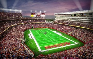 Levi's Stadium will be full of the latest technology