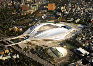Part of Tokyo's bid for the 2020 Olympics, retrofitting stadiums